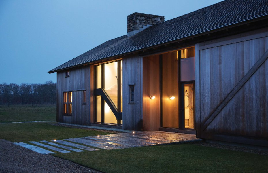 Grey barn farm some nice work by hutker architects for Big two story houses